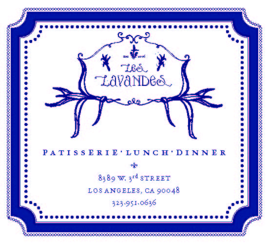Les Lavande business card